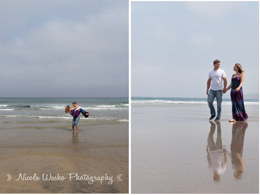 Santa Barbara Photographer Maternity Session On the Beach