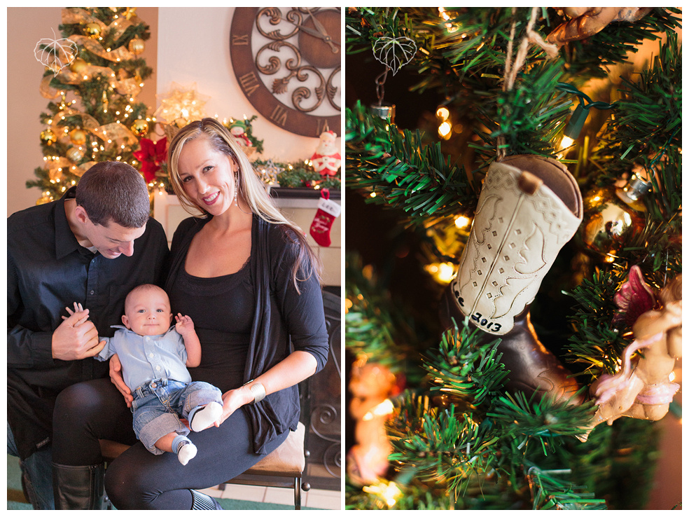 Santa Barbara Family Christmas Portraits