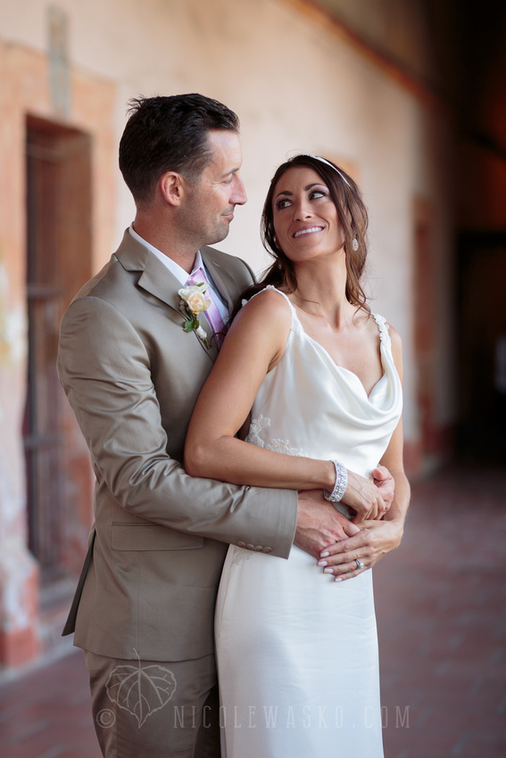 Santa Barbara Mission Wedding Pictures by Nicole Wasko Photography