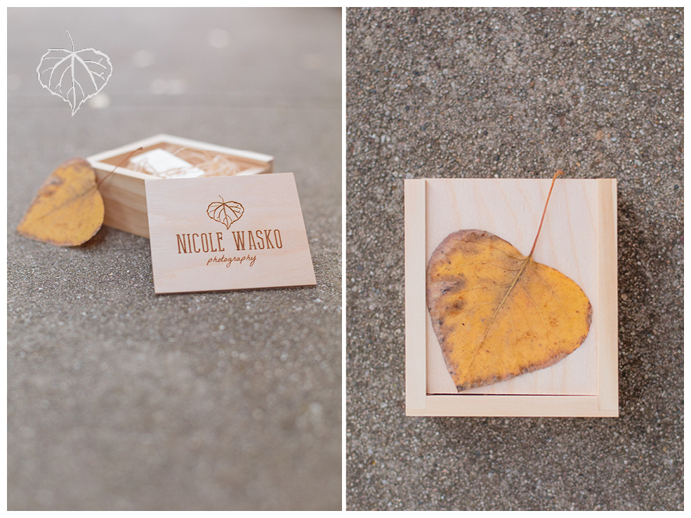 Custom wooden flash drives of client images