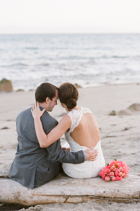 Santa Barbara Wedding Photography on Film